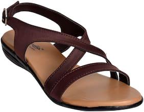 Alert India Footwear Women Brown Sandals