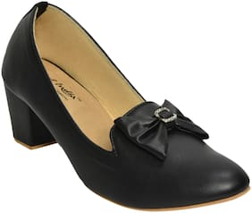 Alert India Footwear Women Black Bellies