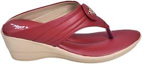 Alert India Footwear Women Pink Sandals