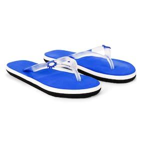 Imported Blue Women's Slippers & Flip flops