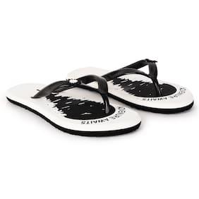 Imported White Women's Slippers & Flip flops