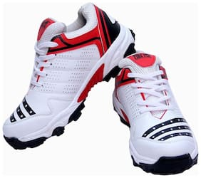 CW Men Cricket Shoes ( Red )