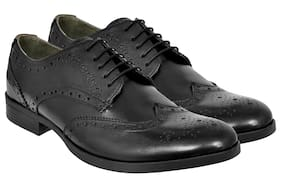 Allen Cooper Men Black Formal Shoes - Acfs-15345