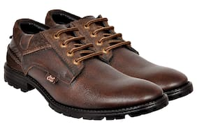 Allen Cooper Men Brown Casual Shoes