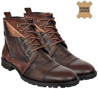 Allen Cooper Brown Boots