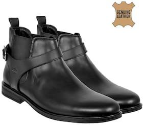 Men Black Chelsea Boots