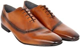 Allen Cooper Men Tan Formal Shoes - Acfs-12172-tan