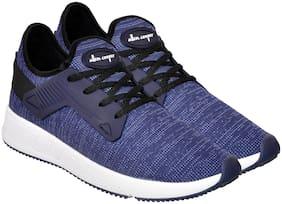 Allen Cooper Blue Running Shoes For Men