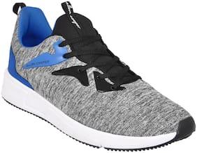 Allen Cooper Grey Running Shoes For Men