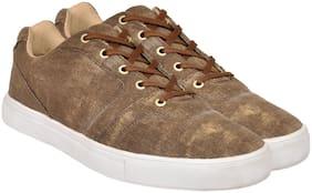 Allen Cooper Men Brown Sneakers
