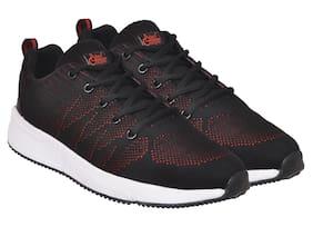 Allen Cooper Men Black Running Shoes