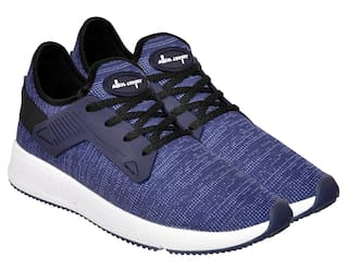 Allen Cooper Men Athleisure Running Shoes Blue Running Shoes