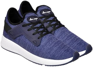 Allen Cooper Men ATHLEISURE RUNNING SHOES Running Shoes ( Blue )