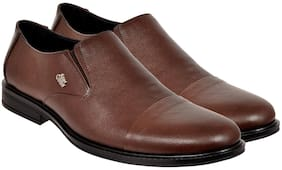 Allen Cooper Men Brown Formal Shoes - Acfs-834-brown
