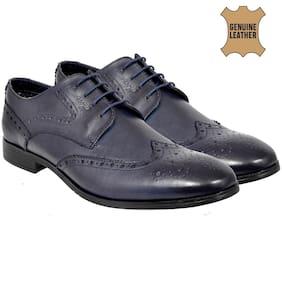 Allen Cooper Men Navy blue Formal Shoes