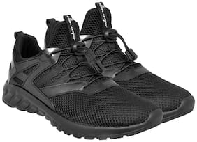Allen Cooper Men Allen Cooper Fast-Track 2.0 Sport Shoe Running Shoes ( Black )