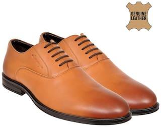 Allen Cooper Tan Formal Shoes