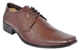 Allen Cooper Men Brown Formal Shoes
