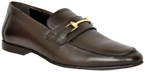 Allen cooper Leather Casual Shoes For Men's