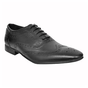 Allen Cooper Men Black Formal Shoes - Acfs-12110