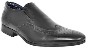 Allen Cooper Men Black Formal Shoes