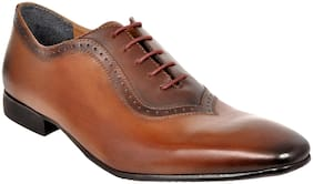 Allen Cooper Men Tan Formal Shoes