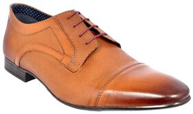 Allen Cooper Men Tan Formal Shoes - Acfs-12121