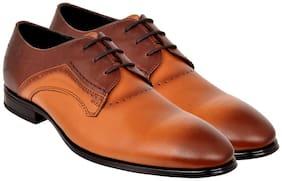 Allen Cooper Men Brown Formal Shoes