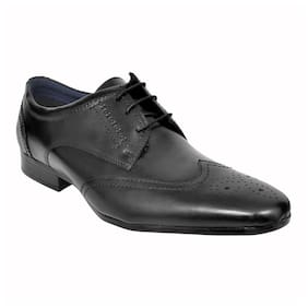 Allen Cooper Men Black Formal Shoes - Acfs-12106