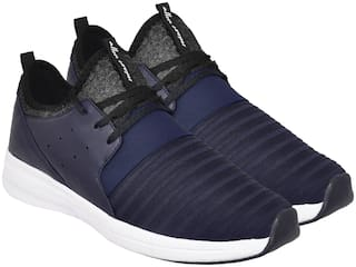 Allen Cooper Men BREATHABLE STYLISH SNEAKERS Trail Running Shoes ( Blue )