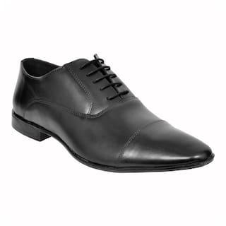 Allen Cooper Men Black Formal Shoes - Acfs-12108