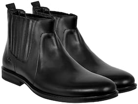Allen Cooper Men Black Boot - Accs-838-black