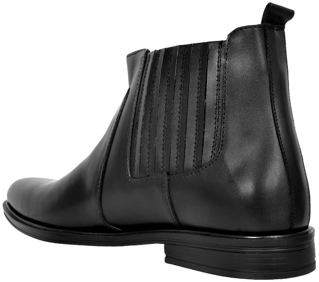 Allen Cooper Men Black Boot - Accs-838-black
