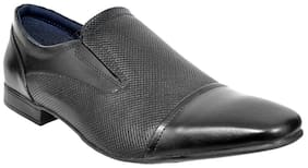 Allen Cooper Men Black Formal Shoes