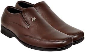 Allen Cooper Men Brown Formal Shoes - Acfs 712 Brown