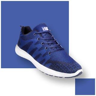 Allen Cooper Men ATHLEISURE RUNNING SHOES Running Shoes ( Blue )