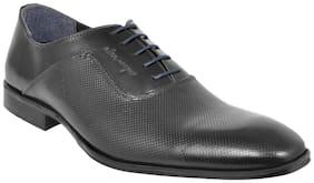 Allen Cooper Men Black Formal Shoes - Acfs-12130