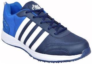 Allen Cooper Men Running Shoes ( Blue )