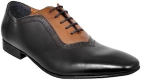 Allen Cooper Men Black Formal Shoes - Acfs-12174-black