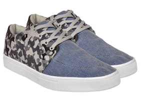 Allen Cooper Men Blue Sneakers