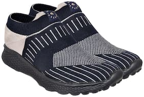 Allen Cooper Men The most Comflish (Comfortable + Stylish) Walking & Jogging Shoes Walking Shoes ( Blue )