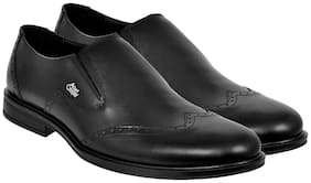 Allen Cooper Men Black Formal Shoes - Acfs-833-black
