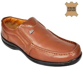 Allen Cooper Men Brown Casual Shoes