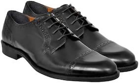Allen Cooper Men Black Formal Shoes - Acfs-12171-black