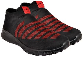 Allen Cooper Men The most Comflish (Comfortable + Stylish) Walking & Jogging Shoes Walking Shoes ( Black )