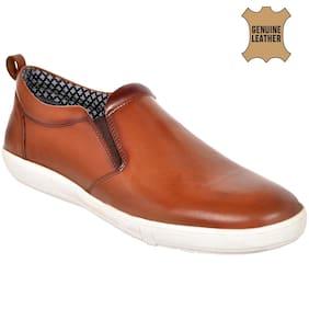 Allen Cooper Men Tan Casual Shoes