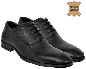Men Black Brogues Formal Shoes