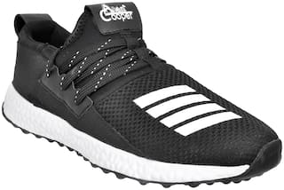 Allen Cooper Men Running Shoes ( Black )