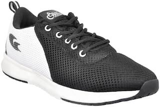 Allen Cooper Men Running Shoes ( Black )