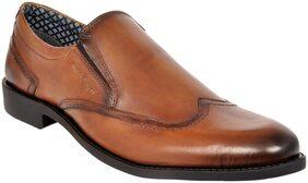 Allen Cooper Men Tan Formal Shoes